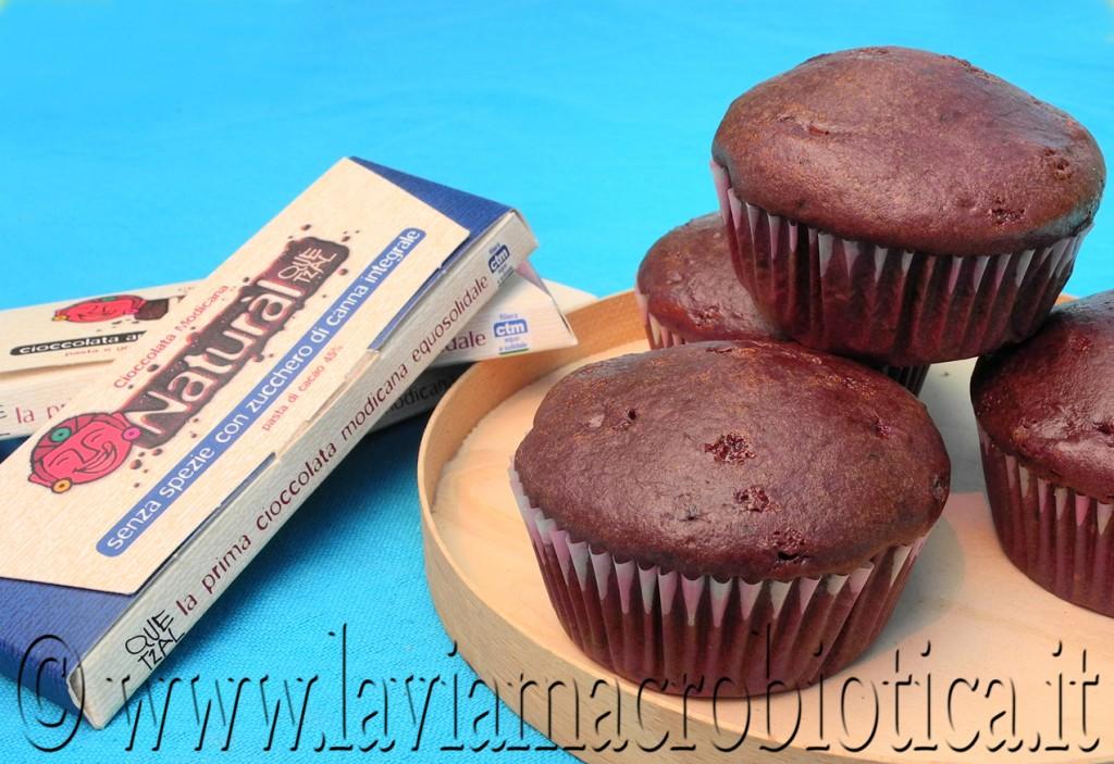 muffins al cioccolato quetzal