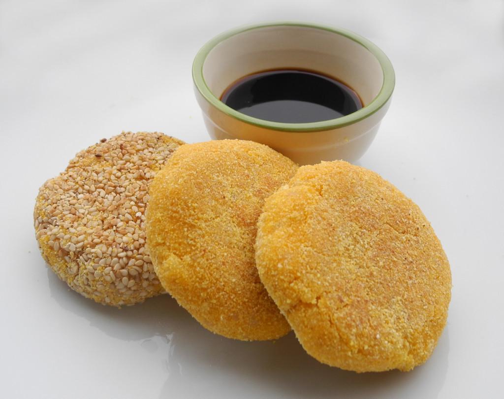 Crocchette di riso integrale e zucca