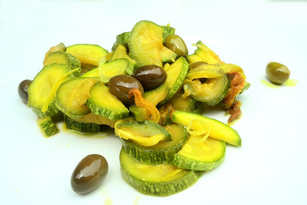 Zucchine, curcuma e limone