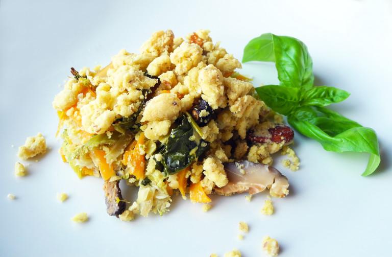 crumble-di-verdure-e-shitake