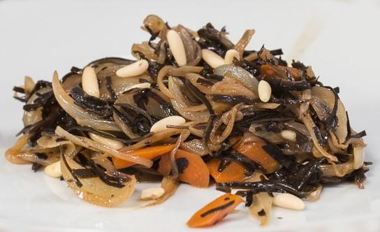 Alghe Arame e verdure dolci
