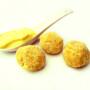 Polpette di lenticchie e shitake con majo allo zafferano