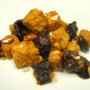 Tempeh con le prugne in agrodolce