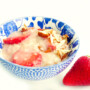 Porridge alle fragole
